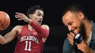 Steph Curry SHADED by Leading Draft Prospect Trae Young