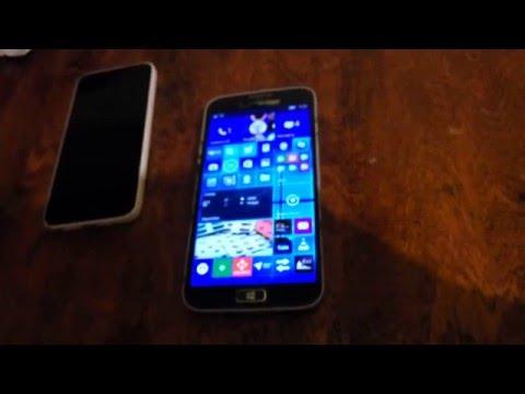 Обзор свежего билда Windows 10 Mobile на Samsung Ativ SE