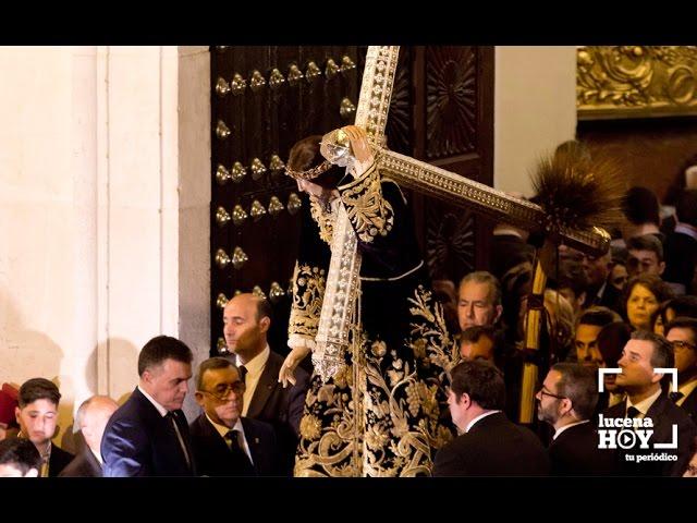 VÍDEO: El Miserere, Perdón y Bendición de Ntro. Padre Jesús Nazareno cierra el Domingo de Pasión