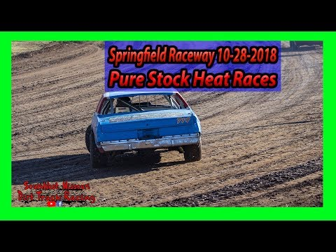 Pure Stock - Heat Races - Springfield Raceway 10/28/2018 - Willard Project Grad