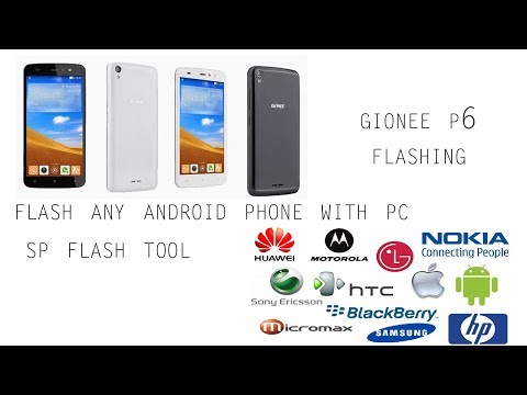 [hindi]flashing-any-android-phone-with-sp-flash-tool||gionee-p6-flashing||gionee-phone-flashing