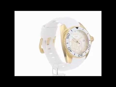 2448e730bbd Relogio Invicta Feminino Angel 0488 - YouTube