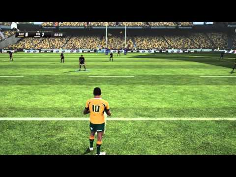 Rugby Challenge 3 HD Gameplay - Australia vs New Zealand (Full Match)
