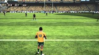 Rugby Challenge 3 HD Gameplay - Australia vs New Zealand (Full Match)
