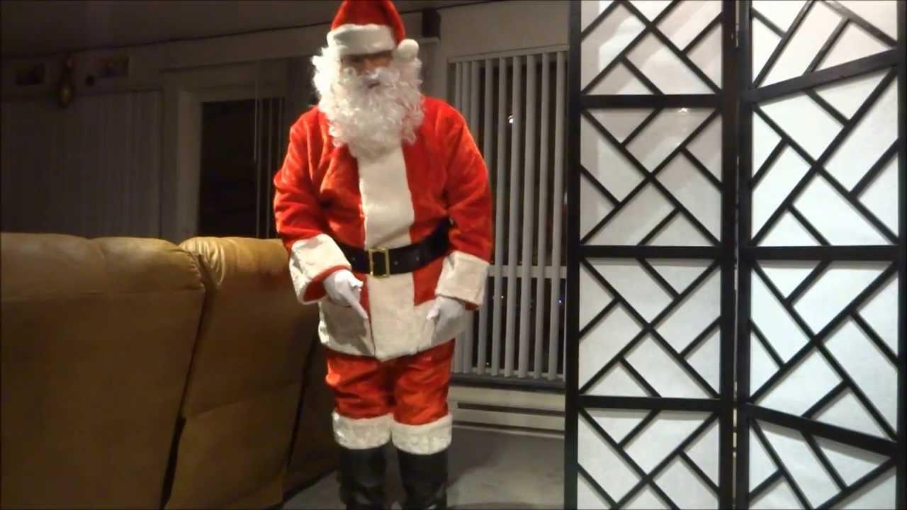 & Santa Suit Unboxing. - YouTube