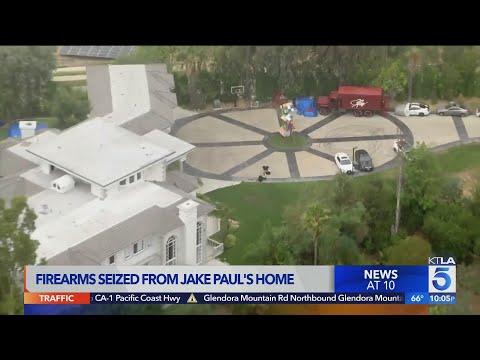 Jake Paul's Calabasas home raided by FBI