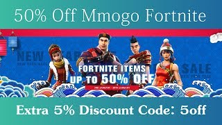 50% Off Mmogo Fortnite Save The World + 5% Off Discount Code 2019