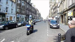 Steve Hislop remembered in Denholm charity ride (Hawick) 4th Sept 2011