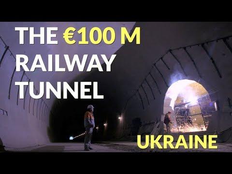 Ukraine's €100 million railway tunnel