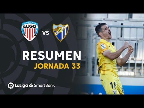 Lugo Malaga Goals And Highlights