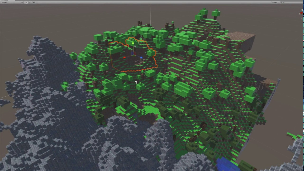 How to Program Voxel Worlds Like Minecraft with Unity