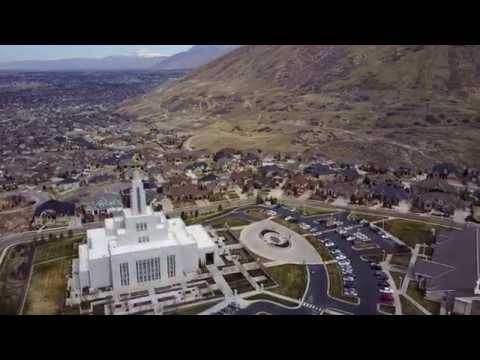 Draper Utah Temple with the Mavic Pro