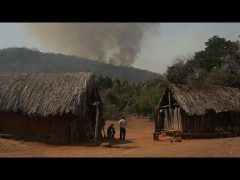 afpes: Evo Morales acepta ayuda internacional y suspende campaña por incendios forestales en Bolivia   AFP