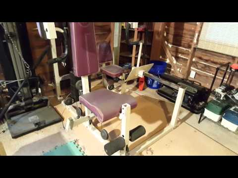 Brian's DIY Home Gym (For Get the Skinny Episode 11)