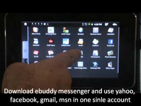 Using Chat - Yahoo, Gmail, Facebook, AOL, MSN @ Ww.smartepad.in