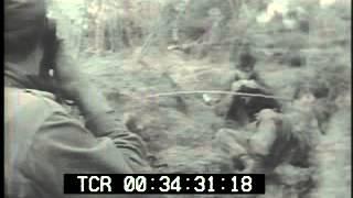Vietnam War - Vietcong Snipers Ambush U.S. Soldiers PublicDomainFootage.com MP3
