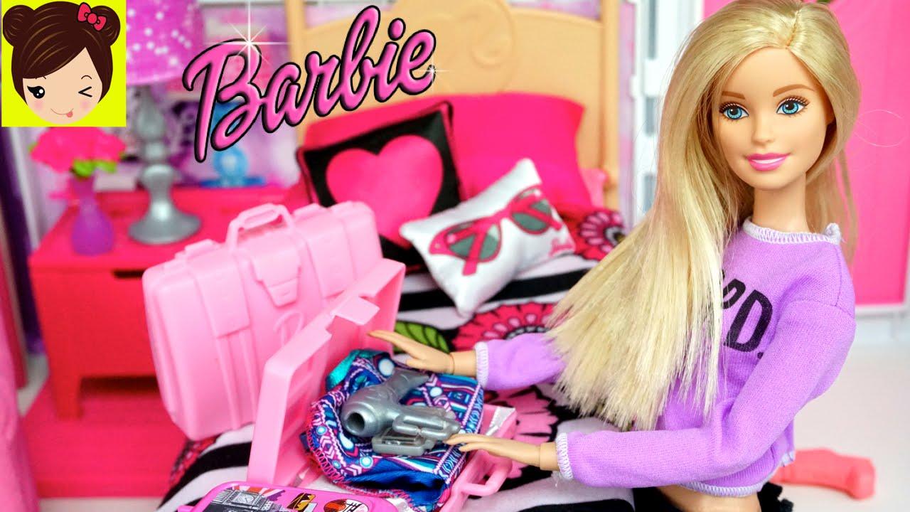Barbie Hace sus Maletas para ir de Vacaciones con Ayuda de Barbie ...