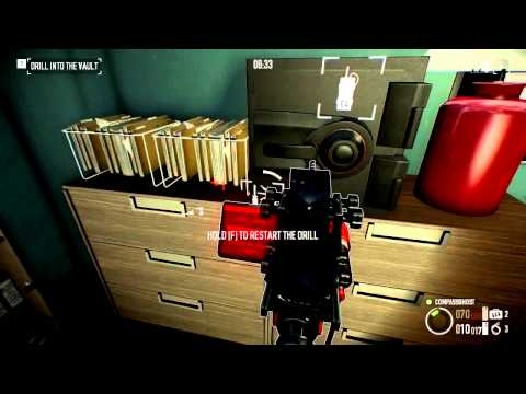 Payday 2 - Solo Undetected Bank Heist, No Assets, Cleaned Out, No Civilians Killed