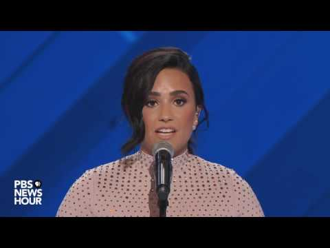 Demi Lovato on her struggle with mental illness