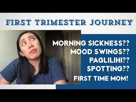 MORNING SICKNESS? PAGLILIHI? FIRST TRIMESTER PREGNANCY Philippines FTM | WeTheTZN | VLOG #101