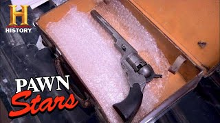 RAREST GUN EVER: Buffalo Bill's 1838 Colt Paterson | Pawn Stars (Season 7) | History