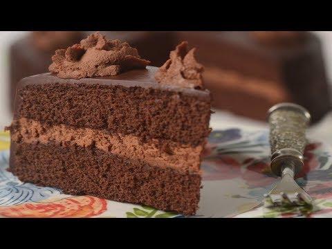 Chocolate Genoise Recipe Demonstration - Joyofbaking.com