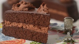 Chocolate Genoise Recipe Demonstration - Joyofbaking.com