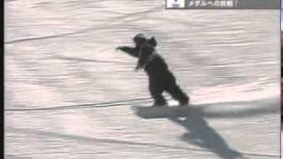 snowboard   ソルトレイク五輪ハーフパイプ男子決勝   中井孝治   2本目 中井孝治 検索動画 9