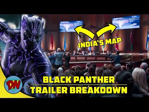 Black Panther Trailer Breakdown and Analysis | Explained in Hindi