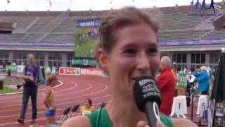 Interview Jolanda Verstraten (NK Amsterdam 2009) - Hardloopnieuws