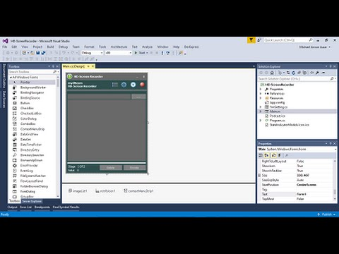 how to make a screen recorder in vb