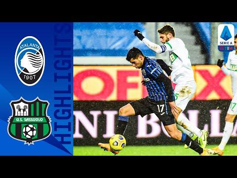 Atalanta 5-1 Sassuolo | La Dea ne segna 5, doppietta di Zapata | Serie A TIM