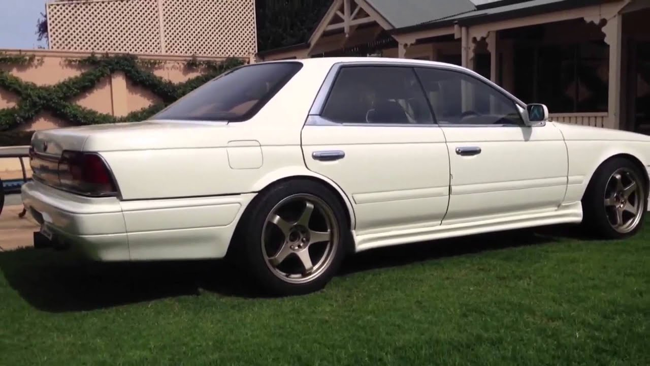 Nissan Laurel C33 RB25 Conversion - YouTube
