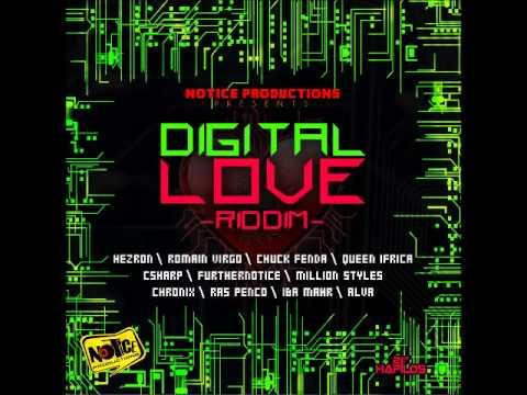 "DaCapo Presents ""DIGITAL LOVE"" RIDDIM MIX (NOTICE PROD.) NOV 2012"