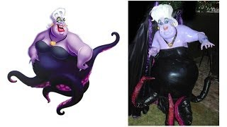 The Making of Ursula from The Little Mermaid - The Costume