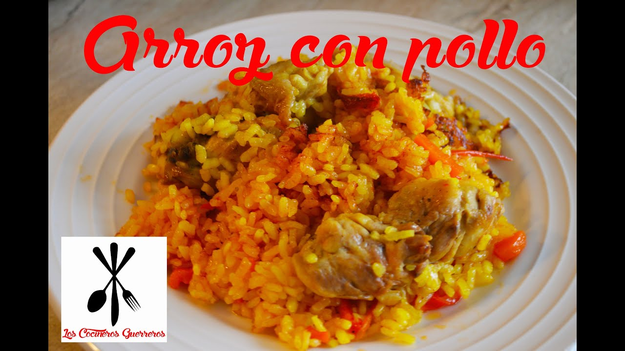 Receta de arroz con pollo youtube - Arroz en blanco con pollo ...