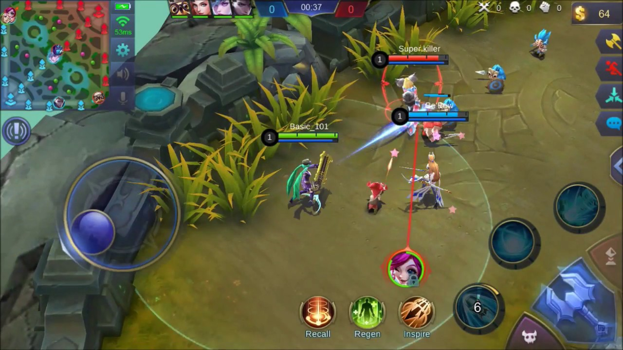 Mobile legends (Very Basic Tutorial for Beginners) Must See