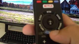 TV Sony KDL-40W655D Erro