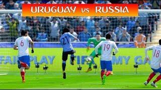Uruguay vs Russia - World Cup 2018 - FIFA 18