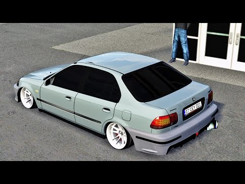 LFS Honda Civic VTI  VOL1 ( 100 Like'de Link Gelir )