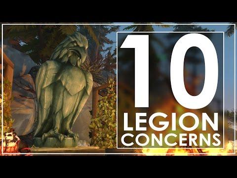 My 10 Concerns With WoW: Legion