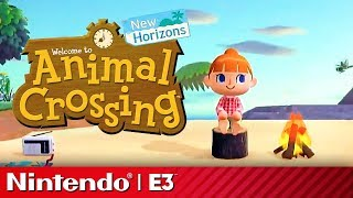 Animal Crossing New Horizons Reveal Presentation | Nintendo E3 2019