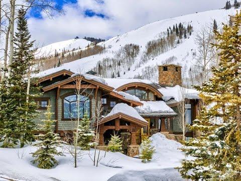 Mountainside Retreat in Park City, Utah