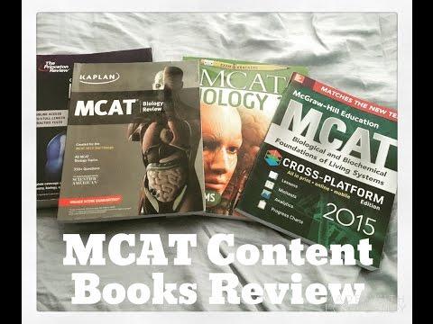 MCAT #4- Content Book Reviews