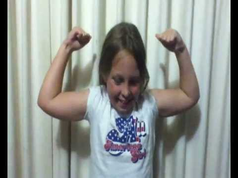 A Little Kid with Very Big and Bouncy Muscles - See the ...  A Little Kid wi...
