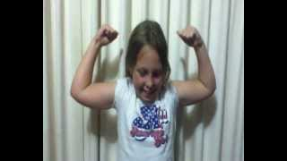 A Little Kid with Very Big and Bouncy Muscles - See the Muscles Flex Quickly Up and Down