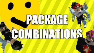 Package Combinations | Where do they come from? | ROBLOX