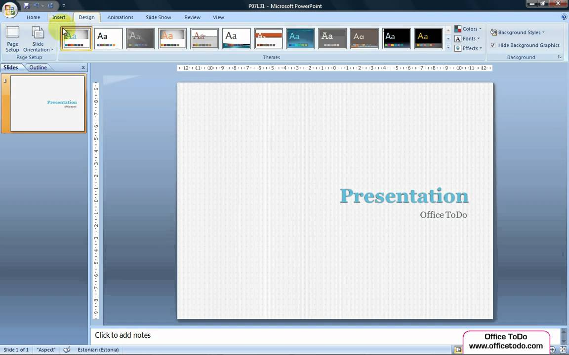 Powerpoint how to change the size of the slides so that they are powerpoint how to change the size of the slides so that they are suitable for a widescreen youtube toneelgroepblik Gallery