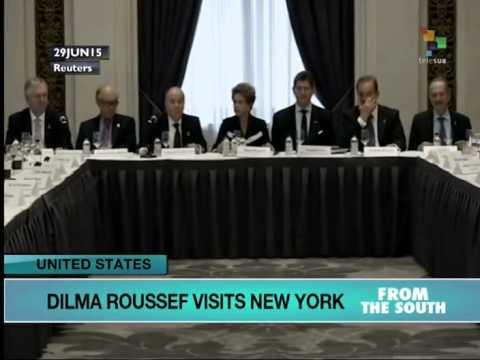 Brazilian President in NY to Promote Investment