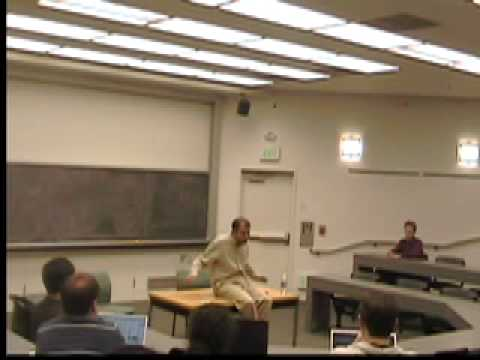 Nipun Mehta talks in the class Designing a Free Society, Stanford University